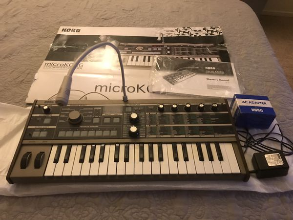 Korg MicroKORG Synthesizer/Vocoder for Sale in MONTE VISTA, CA - OfferUp