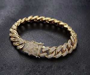 New 18 k yellow gold Cuban bracelet for Sale in Orlando, FL