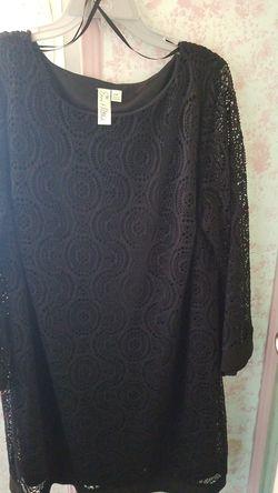 Womens dress 2pc black Thumbnail