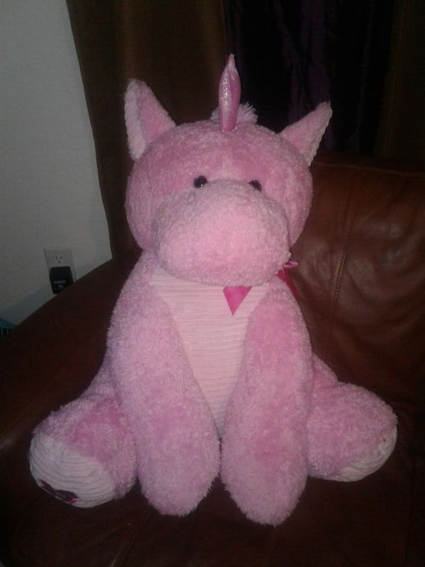 3ft Plush Pink Unicorn Stuffed Animal Yoy Kellytoy For Sale In