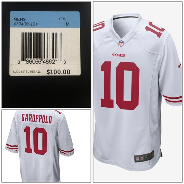 best service cb73f 7f182 Brand New 49ers Jimmy Garoppolo Jersey for Sale in Fremont, CA - OfferUp