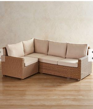 Pier one outdoor patio furniture without cushions for Sale in Coral Springs, FL