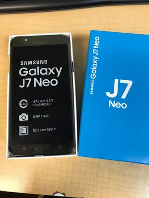 Samsung galaxy J7 Neo unlocked brand new 1 year warranty for Sale in Silver Spring, MD