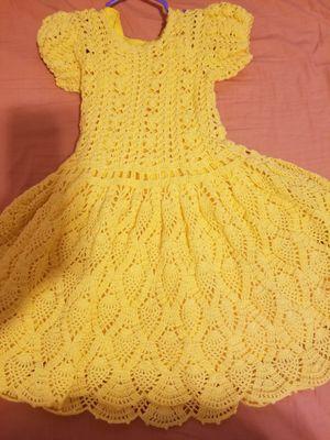 Vestido Tejido De Niña Para 3 Ho 4 Años For Sale In Lynwood