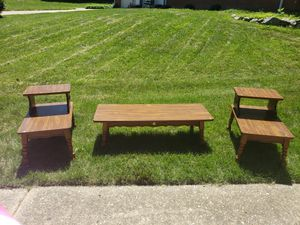Coffee table and 2 end tables for Sale in Springfield, VA