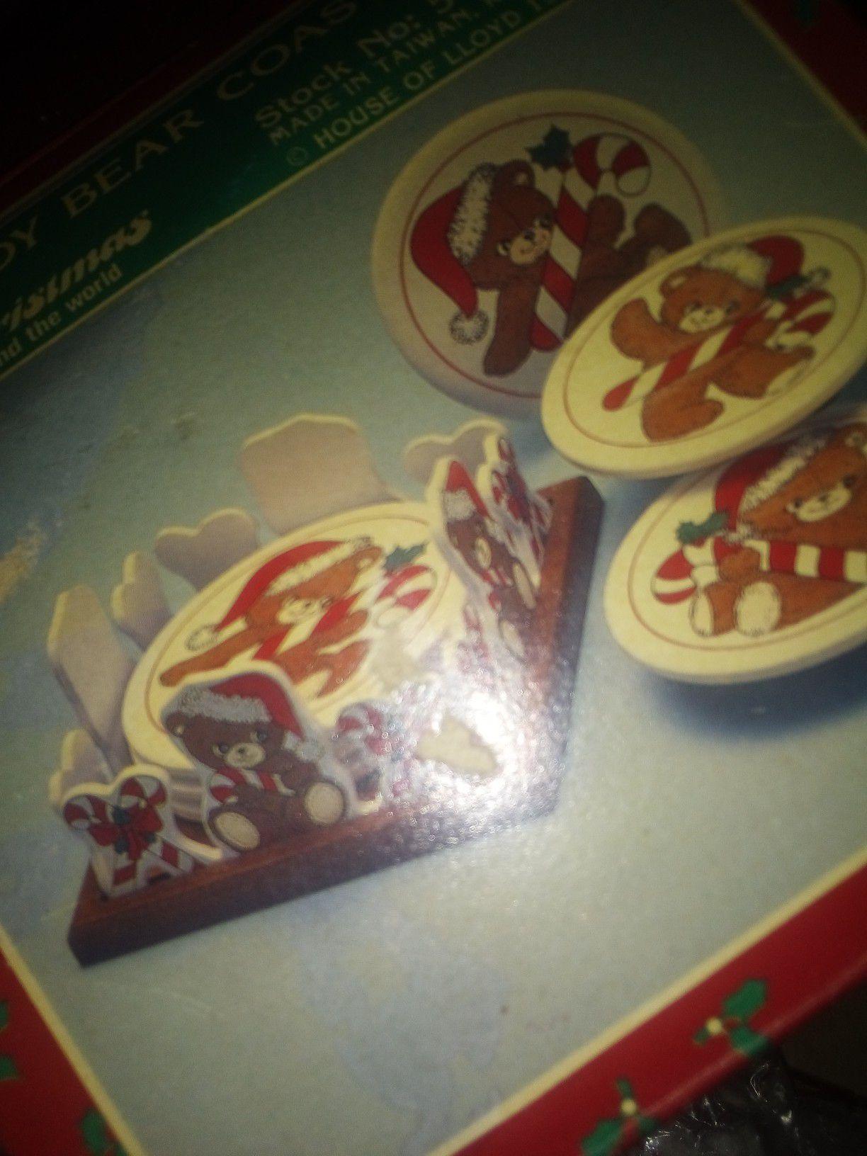 Holiday Coasters set. $5