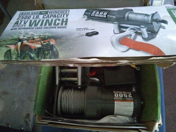 2500 lb electric Badlands winch for Sale in Las Vegas, NV - OfferUp