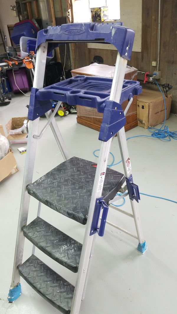 Werner 300lbs 2 8 Quot Step Stool Ladder 283 2 For Sale In