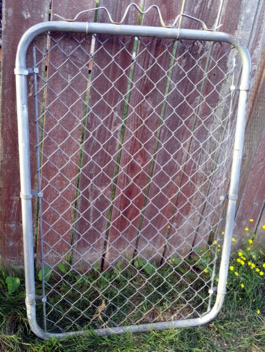 Vintage Chain Link Fence Front Gate For Sale In Tacoma Wa