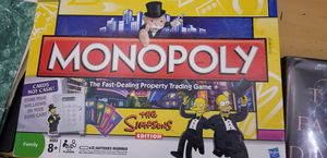 Monopoly-The Simpsons for Sale in Silver Spring, MD