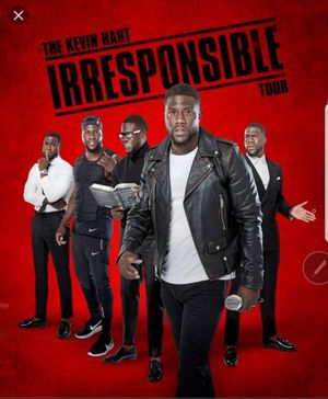 """Kevin Hart """"Irresponsible Tour"""" Comedy Show Tix for Sale in Washington, DC"""