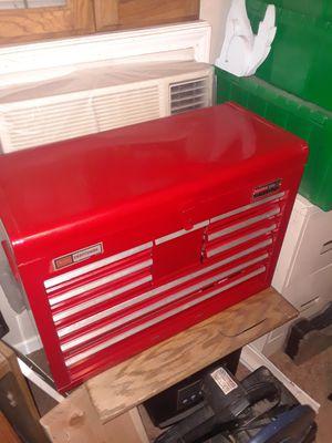 Photo Craftsman ten drawer tool box