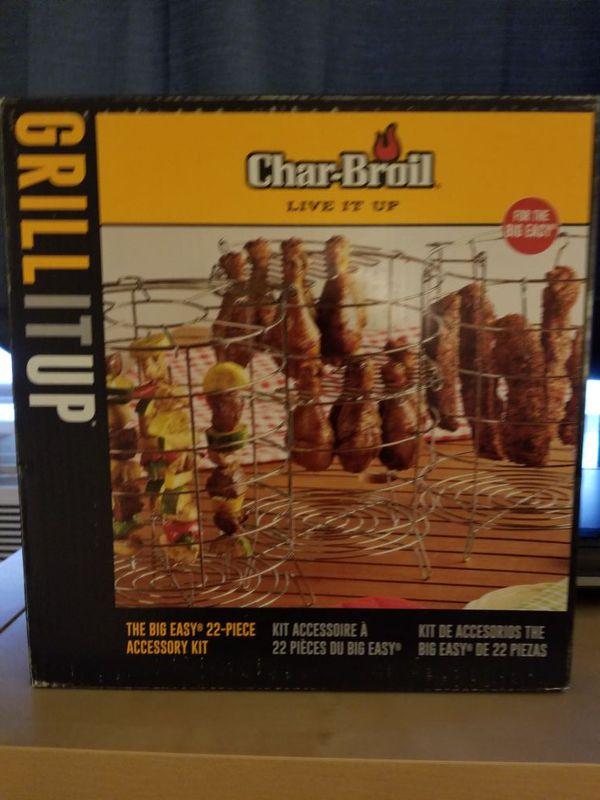 Char Broil Easy 22 Pc Turkey Fryer Accessory Kit