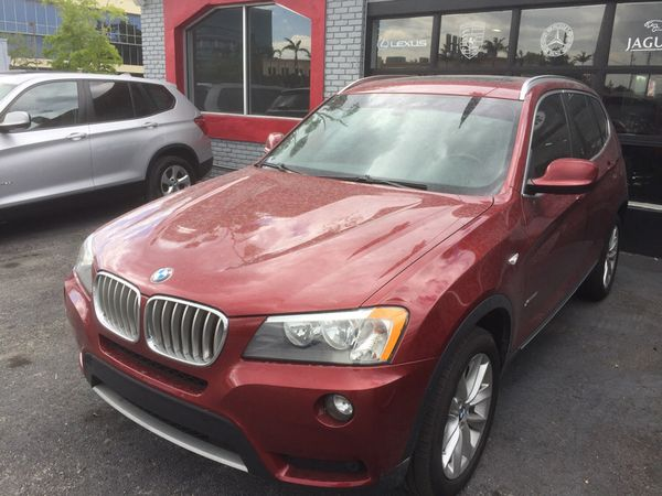 2013 BMW X3 Scarlet Red For Sale In Hollywood FL
