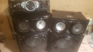 Samsung giga sound speakers for Sale in Los Angeles, CA