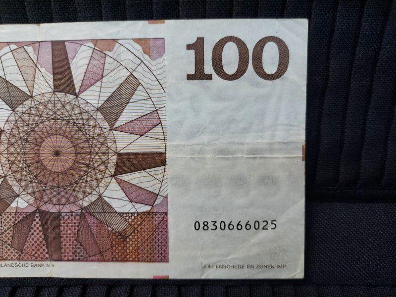 Netherland 100 Gulden 14.05.70 VF