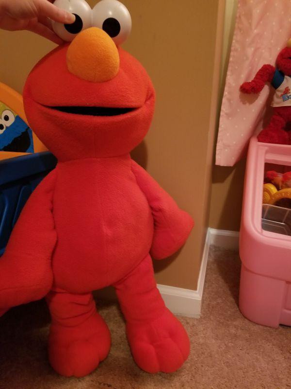 Huge Stuffed Elmo For Sale In Easley Sc Offerup
