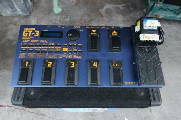 Boss Gt 3 Guitar Effects Processor
