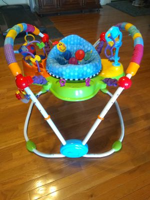 Photo Baby Einstein bouncing busy exploring toy