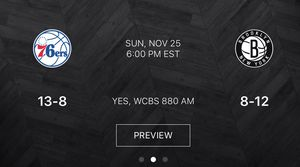 Brooklyn Nets vs Philadelphia 76ers - Section 228 - Row 3 ** 2 Seats Tickets** for Sale in New York, NY