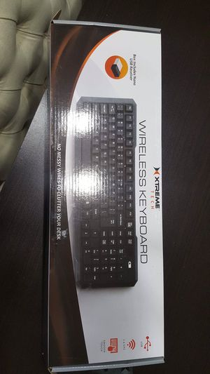 Wireless keyboard for Sale in Falls Church, VA