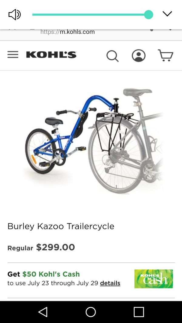 Burley bike trailer (Bicycles) in Houston, TX - OfferUp