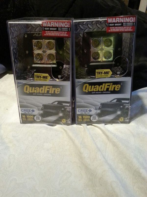 New Alpena Quadfire high intensity led cube lights (Auto Parts) in ...