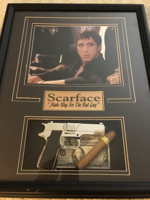 Scarface Movie Collection Frame For Sale In West Palm Beach Fl