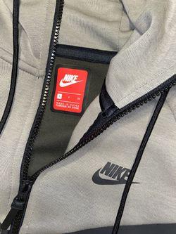 Nike Tech Fleece OLIVE GREEN-BLACK GREY Thumbnail
