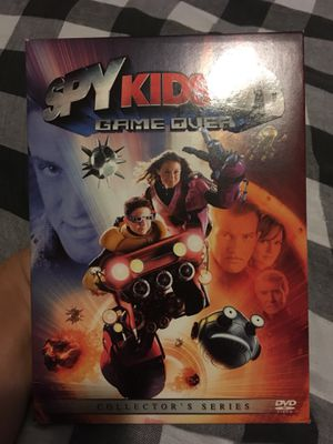 Spy Kids 3-D Game Over DVD (excellent condition) for Sale in Queens, NY