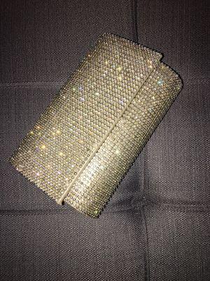 Brand New Gold rhinestone clutch! for Sale in Atlanta, GA