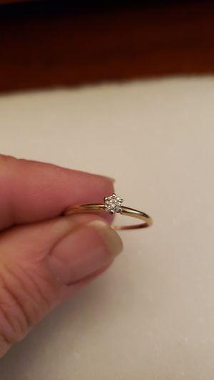 e6db27b43ef6d7 Solid 10kt gold & genuine diamond ring for Sale in Wichita, ...