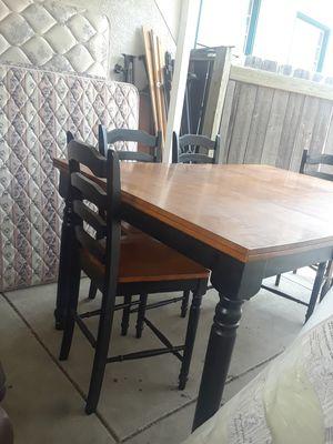 Pub Table 6sillas Altas For In Manteca Ca