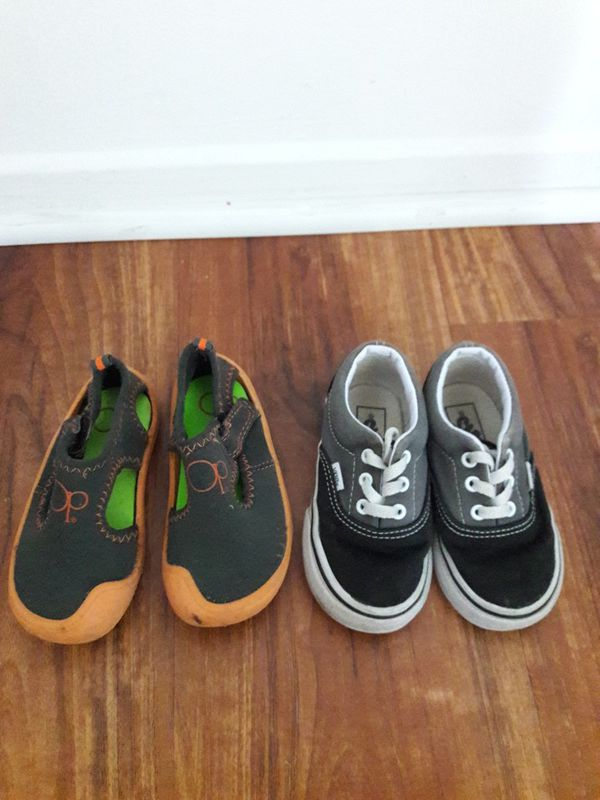 d861d2b0f9 Boys Vans shoes and OP water shoes for Sale in Los Angeles