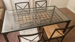 Glass dining table for Sale in Richmond, VA