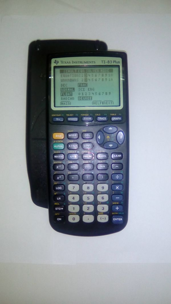 Ti 83 plus graphing calculator electronics in clarkston ga offerup urtaz Images