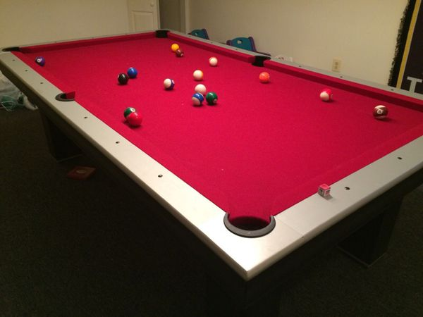 Easton Pool Table W Ping Pong Table Top For Sale In Manassas VA - Easton pool table