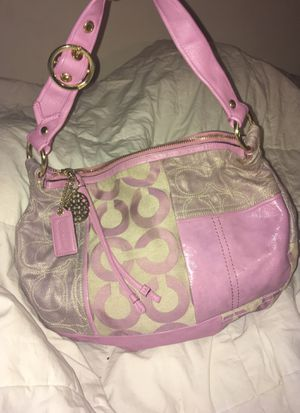 Pink coach Purse for Sale in Washington, DC
