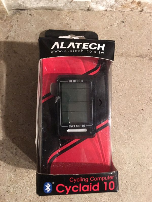 Alatech Cyclaid 10 Ble 4 0 Cycling Computer For In Newport