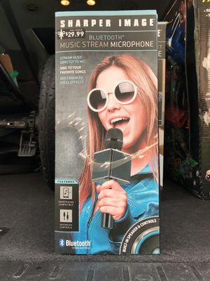 Sharper Image Music Stream Microphone for Sale in Salisbury, MD