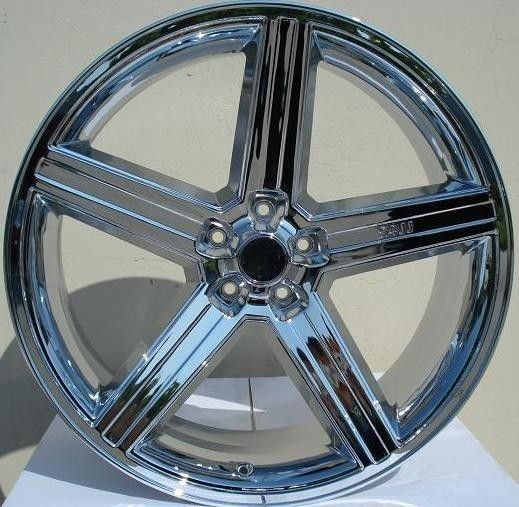 24 Inch Iroc Chrome For Gbody 5x120 For Sale In Kent, WA