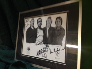 Paul Rodgers Bad Company signed framed photo for Sale in St. Louis, MO