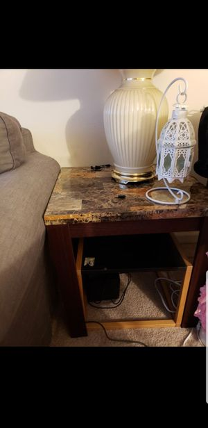 faux marble coffee/ side table for Sale in Hyattsville, MD