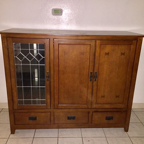 Ethan Allen Solid Wood Tv Media Console Cabinet For In City Of Industry Ca Offerup