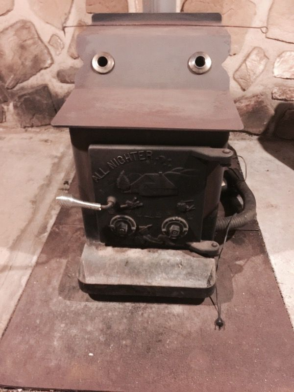 Big Moe Quot All Nighter Quot Wood Burning Stove For Sale For Sale
