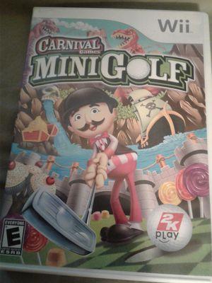 Mini Golf wii for Sale in Oxon Hill, MD
