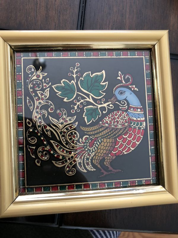 Small Peacock Painting For Sale In Wake Forest Nc Offerup