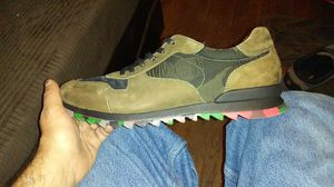 Brand new suede camouflage shoes made by Karl Lagerfeld Paris. for Sale in Raleigh, NC