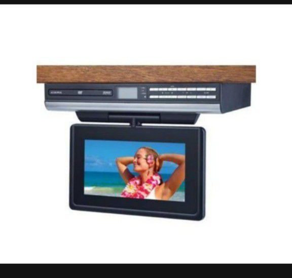 "Audiovox Space Saving Kitchen 9"" LCD TV+DVD and RADIO"