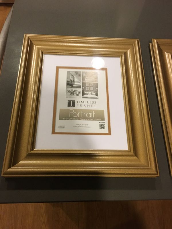 Brand new golden classic-border picture frames (Furniture) in ...